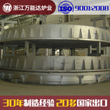 Circular Furnace for Nuclear Power Station